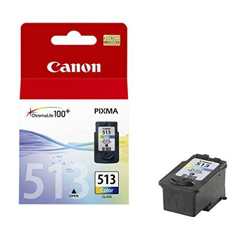 Canon CL-513 Cartucho de tinta original Tricolor para Impresora de Inyeccion de tinta...