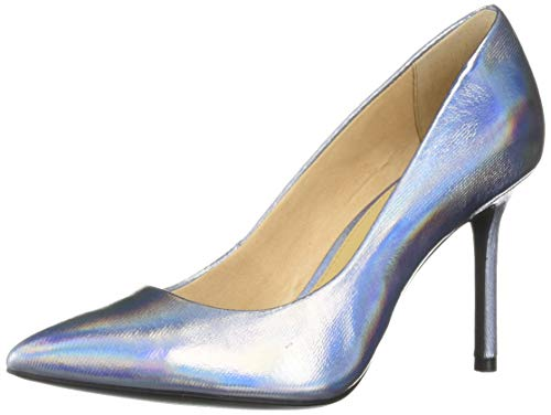 Katy Perry Women's The Sissy Pump, silver, 8.5 Medium US