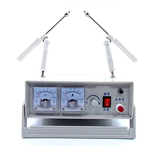 TWY Generador electrostático Dispositivo generador de Electricidad estática de Alto Voltaje Equipo de Experimento electrostático físico Electrizador electrónico