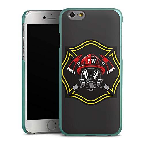 DeinDesign Hülle kompatibel mit Apple iPhone 6s Handyhülle Case Feuerwehrmann Rettungsdienst Feuerwehr