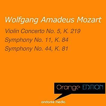 Orange Edition - Mozart: Violin Concerto No. 5, K. 219 & Symphonies Nos. 11, 44