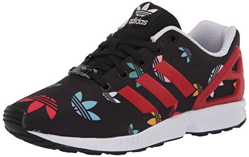 adidas Originals ZX Flux Shoes - Zapatillas de Deporte para niños, Color Negro, Talla 36 2/3 EU