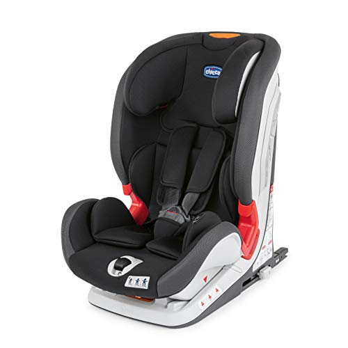 Chicco YOUniverse Fix - Silla de Coche Isofix Grupo 123 (9-36kg) con Reductor, color Negro