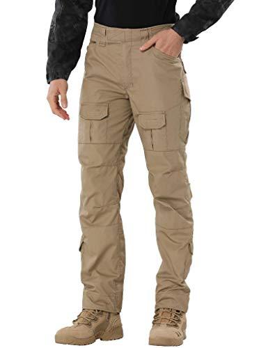 AKARMY Men's Waterproof Hiking Pants,Tactical Combat...