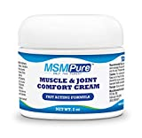 Kala Health MSMPure Maximum Strength Muscle & Joint Comfort MSM Cream, 2 oz, Fast Acting & Non-Staining Formula, Made in The USA