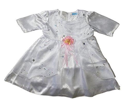 Kleid für die Taufe, Hochzeit und alle anderen Anlässe, Taufkleid für Baby, Taufkleidung für Babys, Kleidchen für Mädchen Y12 Gr. 80/86