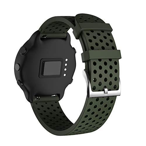 NotoCity Correa para Garmin Vivoactive 3/Forerunner 245 / Garmin Venu/Samsung Galaxy Watch...