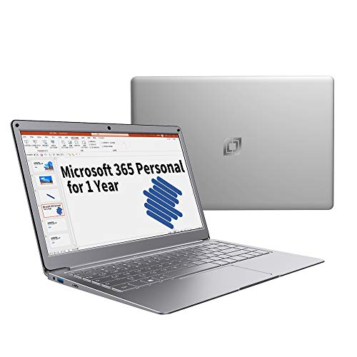 Product Image 2: Jumper Microsoft Laptop with Office 365 Personal for 1 Year, 13.3-inch FHD (1920 x 1080) IPS Display, 4GB RAM 64GB ROM, Windows 10 Laptop, Traditional Laptop Computers Intel N3350 Laptops