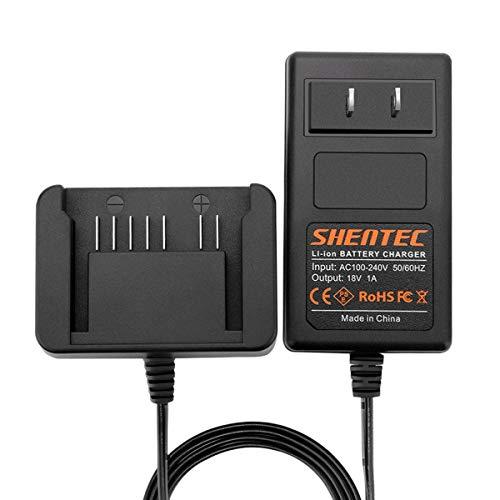 Shentec 18V Li-ion Battery Charger Compatible with Hitachi 18V 339782 BSL1830C BSL1815X BSL1815S BSL1830 330139 330557 Li-ion Slide Style Battery