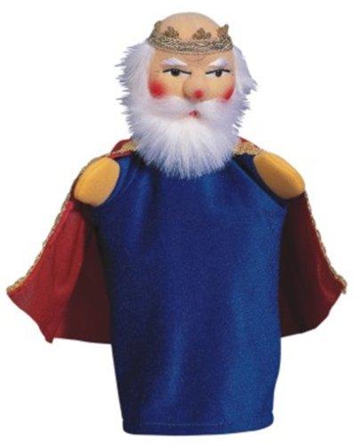 Kersa 12530 - Kasperfigur König, 30 cm Handpuppe