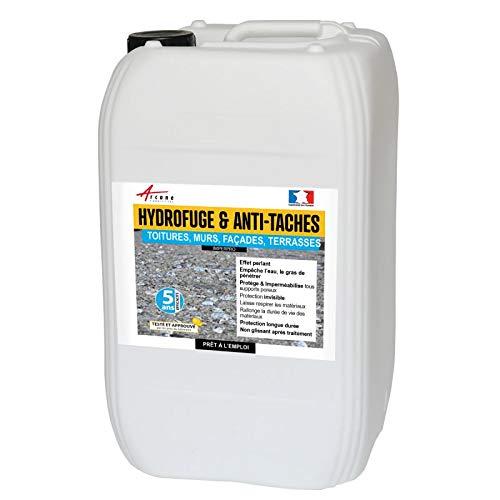 Hidrófuga y antimanchas.Producto impermeabilizante para paredes, suelos, techos y fachadas. Imperpro., incoloro