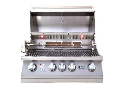 LION L75000 Built in Premium BBQ Liquid Propane Grill