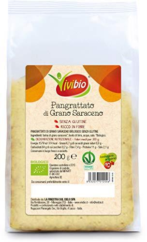 Vivibio Pangrattato di Grano Saraceno S/Glutine Bio - 200 g