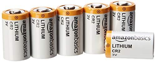 AmazonBasics – CR2-Lithium-Batterien, 3 V, 6er-Pack