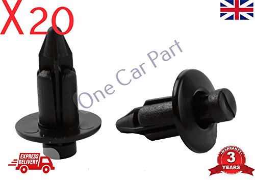 20x MR2 Trim Clips For Front Luggage Compartment Frunk & Spare Wheel Area