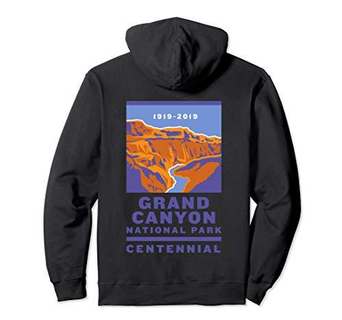 Grand Canyon National Park Centennial Logo Pullover Hoodie