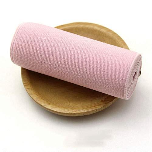 2m 8cm naaien elastische band DIY ondergoed broek schoenen elastische singels lint tapes broek elastiekjes accessoires, roze, 8cm
