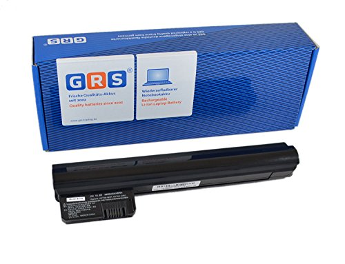 GRS Batería para HP Compaq Mini 210-1000 210-1010SL 210-1018EG 210-1019EG sustituye a: 590543-001 590544-001 AN03 596239-001 HSTNN-Q46C 582214-141 WD546AA HSTNN-LBOP HSTNN-DB0P