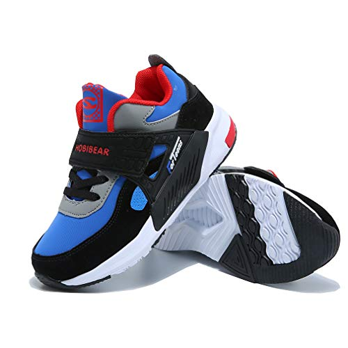 Kids Walking Running Shoes Breathable Casual Trainers Lightweight Athletic...