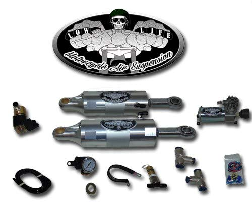 1989-1999 Harley Davidson Softail Ultimate Air Ride Lowering Suspension Kit