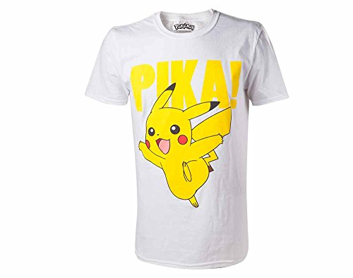 Pokemon Pikachu Pika! T-Shirt -XS-