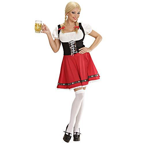 WIDMANN 5695T - Vestito da Heidi Adulto