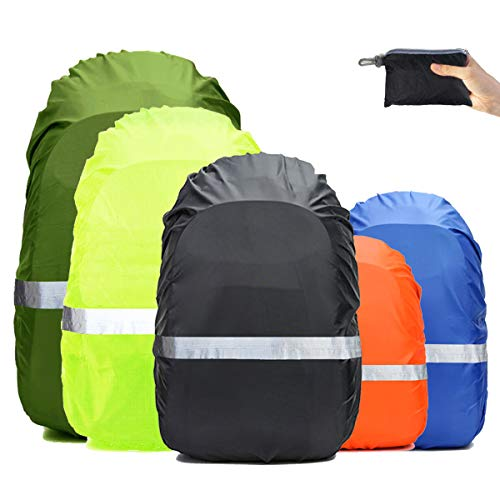 GuangTouL Waterproof Backpack Rain Cover Upgraded Triple Waterproofing with Adjustable Anti Slip Buckle Strap,Wear-Resisting and Durable,for Outdoor,Hiking,Camping,Cycling 15-80L