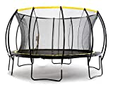 SkyBound 'Stratos Premium 12 Foot Trampoline with Safety Enclosure Net - Rated for Kids and Teens