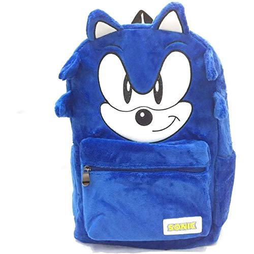 zdfbhkm Mochila Sonic Dibujos Animados Dibujos Animados Sonic Mouse Sonic Stabbing Phonon Mochila para niños A