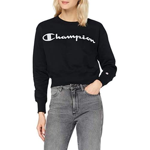 Champion Women's Seasonal Metallic Logo Sweatshirt