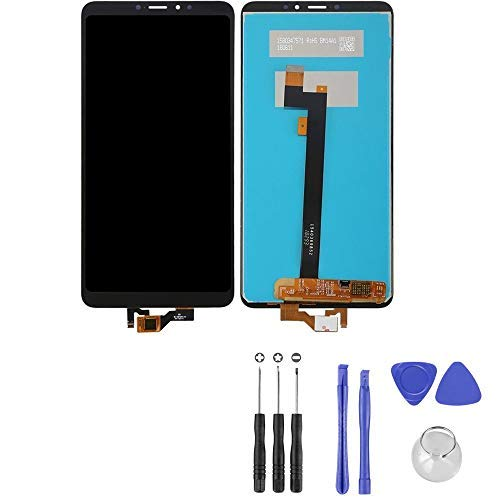 """LCD Display Touch Screen Digitizer Compatible for Xiaomi Mi Max 3 M1804E4A 6.9"""" (Black) with Tools"""