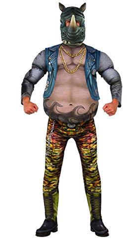 Rubie's Men's Teenage Mutant Ninja Turtles 2 Deluxe Rocksteady Costume, As Shown, X-Large