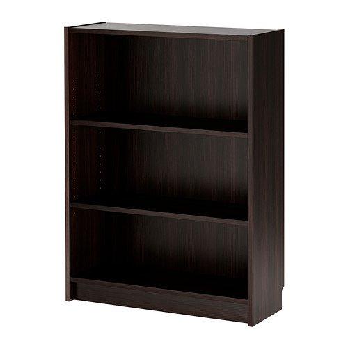 IKEA BILLY -Bücherregal schwarz-braun