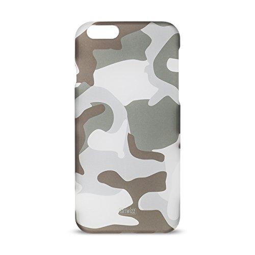 Artwizz Camouflage Clip Handyhülle designed für [iPhone 8 PLUS, iPhone 7 PLUS] - Schutzhülle im Tarnmuster-Erscheinungsbild mit Soft-Touch-Beschichtung und Grip