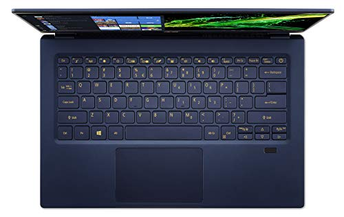 Acer Swift 5 SF514-54T-7500 Notebook portatile, Intel Core i7-1065G7, Ram 8GB, 512GB PCIe NVMe SSD, Display Multi-touch 14
