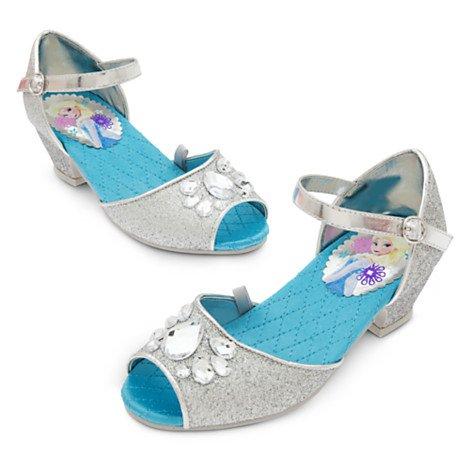 Frozen Argent chaussure pour enfants au Royaume-Uni Taille 10 / Taille de l'UE 28