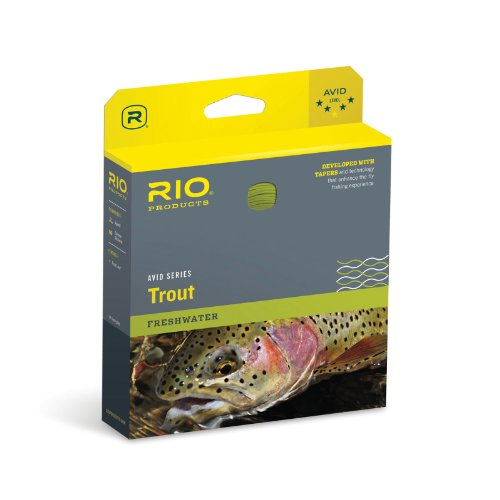 RIO Products Fly Line Avid Trout Wf6F Pale Yellow, Pale-Yellow