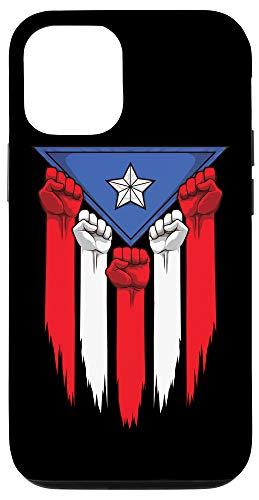 iPhone 12/12 Pro Boricua Fists - Puerto Rico Flag - Proud Puerto Rican Case