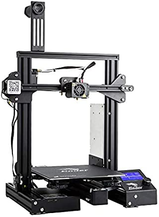 """Comgrow Creality Ender 3 Pro 3D Printer with Upgrade Cmagnet Build Surface Plate and UL Certified Power Supply 8.6"""" x 8.6"""" x 9.8"""""""