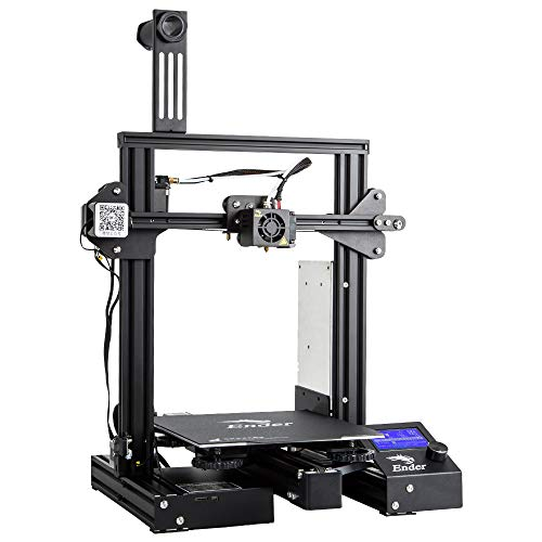 "Comgrow Creality Ender 3 Pro 3D Printer with Upgrade Cmagnet Build Surface Plate and UL Certified Power Supply 8.6"" x 8.6"" x 9.8"""