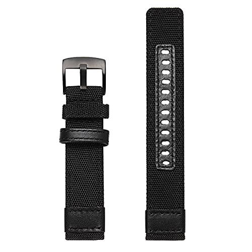 Correa de repuesto para Gear S3 Frontier&Classic Smartwatch Accesorios, Negro,