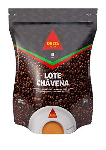 Delta - Chávena Café en Grano De Tueste Natural 8 Unidades 250 g - Lote de 8