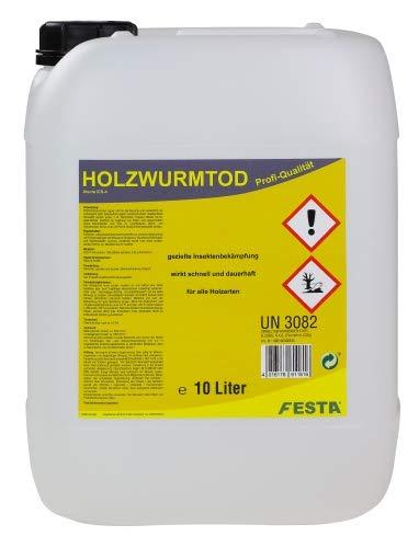 FESTA Holzwurmtod, Holzwurmex, Schädlingsbekämpfung 10 Ltr.