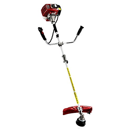 Best Deals! Skroutz Gas-powered String Trimmers Heavy Duty Brush Cutter 1300W 42.7cc Easy To Use Wid...