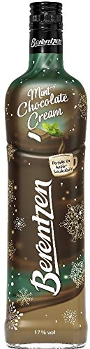 1 Flasche Berentzen Mint Chocolate Cream a 0,7 L 17% vol.