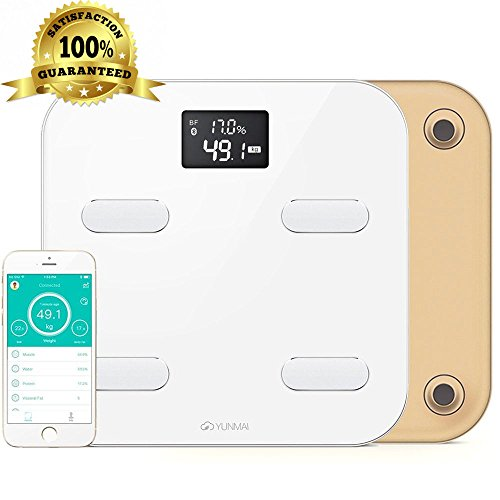 Yunmai Color Smart Scale - Body Fat Scale with Fitness APP & Body Composition Monitor with Extra Large Display