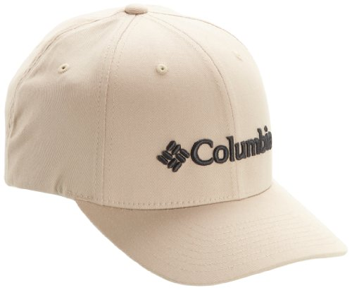 Columbia Men's Fitted Ballcap, Fossil, Large/X-Large