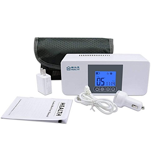 Updated Version 35.6-46.4 USB Insulin Cooler Case Portable Reefer Car Small Refrigerator for Insulin 8 Hours Standby