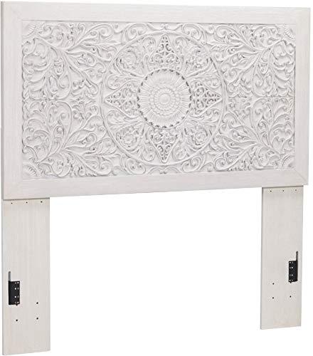 Signature Design By Ashley - Paxberry Full Panel Headboard - Whitewash