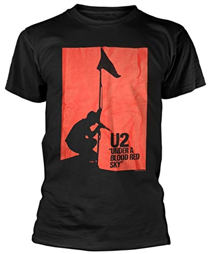 NR U2 'Blood Red Sky' T-Shirt - New